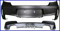 For E81 E87 Rear BUMPER M 1 Sport style m-tech package back bodykit kit M-sport