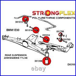 Full suspension bush kit SPORT for BMW 3 Series E30
