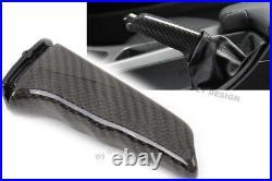 Für BMW E46 tuning echte CARBON Handbremsgriff Handbremshebel Handbremse Bremshe