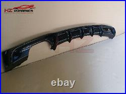 Gloss Black M Sport Performance Look Bumper Diffuser For Bmw 3 Series F30 F31