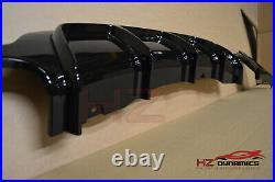 Gloss Black Performance Rear Diffuser For Bmw 4 Series F32 F33 F36 M Sport Uk
