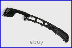 Gloss Black Rear Diffuser For Bmw 3 Series F30 F31 M Sport Twin Exhaust Uk