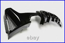 Gloss Black Rear Diffuser For Bmw 4 Series F32/f33 F36 M Sport Performance Twin