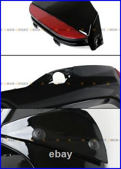 Glossy Black Rear Diffuser For 17-19 BMW G30 5 Series With M Sport Bumper-M5 Style