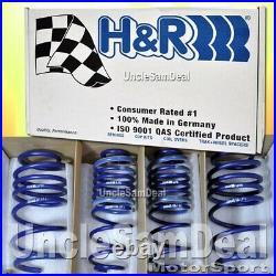 H&R LOWERING SUPER SPORT SPRINGS SET BMW F30 320i 328i 335i F32 428i 1.75F DROP