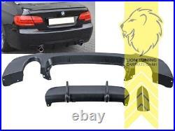 Heckansatz Heckspoiler Diffusor für BMW E92 Coupe E93 Cabr für M-Paket 335i 335d