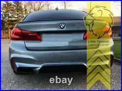 Heckansatz Heckspoiler Diffusor für BMW G30 Limousine G31 Touring für M-Paket