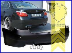 Heckstoßstange Heckschürze für BMW E60 Limousine Sport Optik für PDC