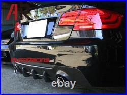 M Sport Rear Bumper Diffuser Carbon Fiber For BMW 2007+ 335i Coupe Convertible