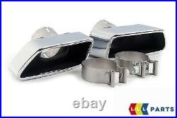 NEW GENUINE BMW 6 SERIES F12 F13 F06 640d REAR M SPORT DIFFUSER WITH TAIL PIPES