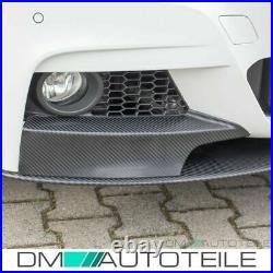 PERFORMANCE Front Spoiler Splitter Black Rear Diffusor fits BMW F30 F31 M-Sport