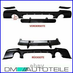 PERFORMANCE Rear Diffusor 335i 335d Black fits on BMW E92 E93 M-Sport Bumper 06