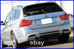 Rear Bumper Diffuser For Bmw E90 E91 Sport M
