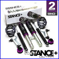Stance+ Ultra Coilovers Suspension Kit BMW 3 Series E46 Saloon & Coupe (Petrol)