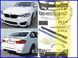 Stoßstangen Set Body Kit für BMW F30 Limousine Sportpaket für PDC